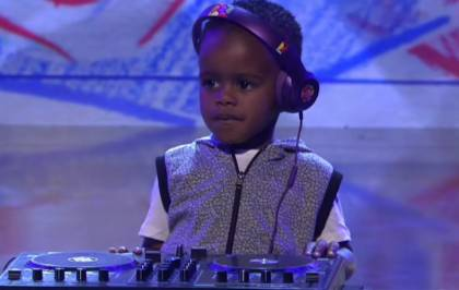 Le bébé DJ a donc remporté South Africa Got Talent...