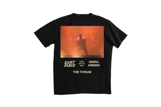 Saint Pablo Tour Merchandising