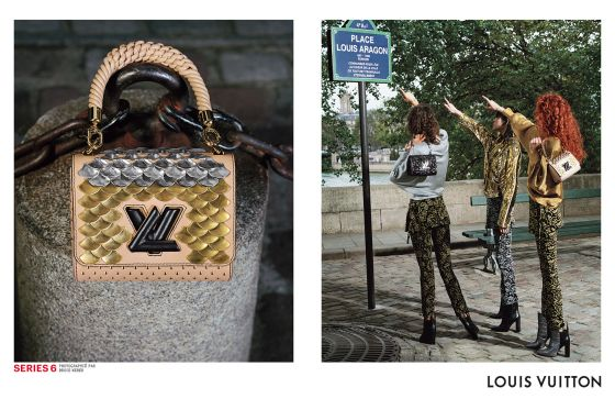 Series 6, par Bruce Weber pour Louis Vuitton