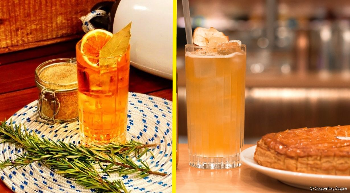 Un cocktail au cidre pour l'Epiphanie