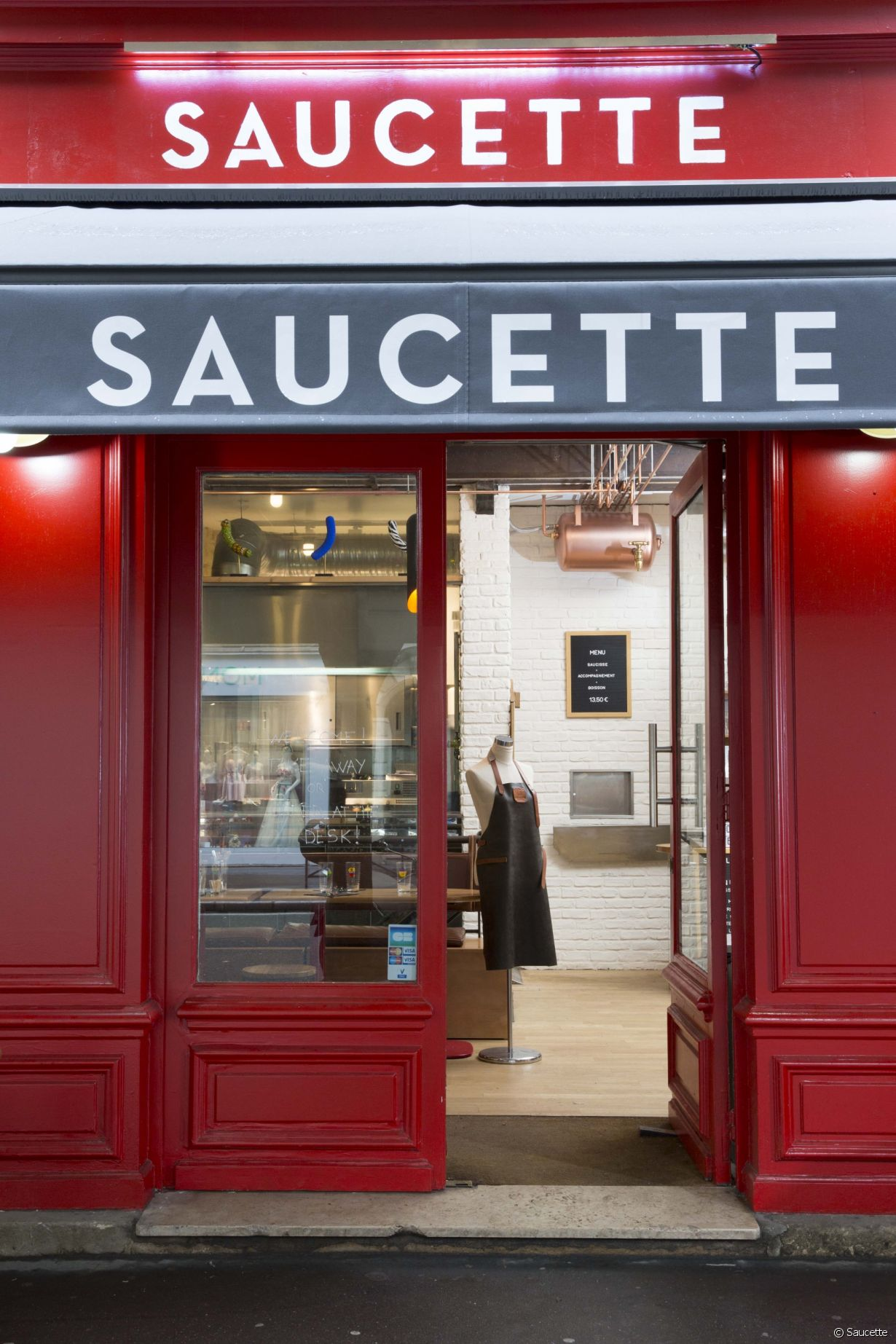 Saucette, 30 rue Beaubourg, 75003 Paris - Photo 26