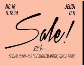 La Sale ! invite Brigitte Fontaine au Social Club