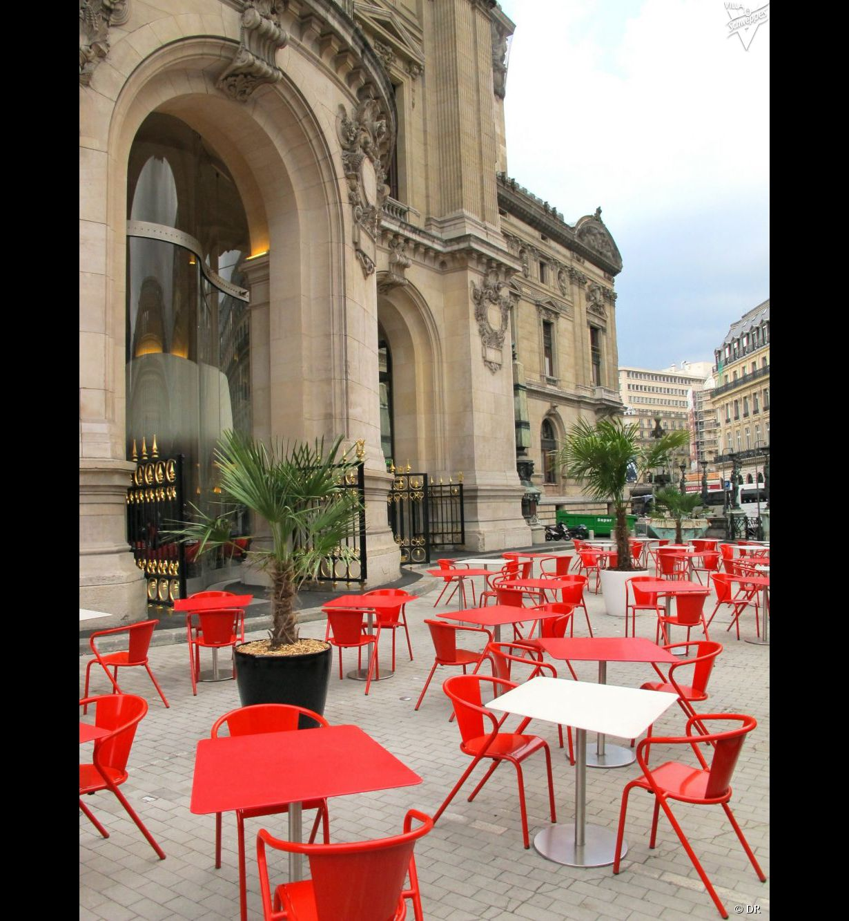 Les terrasses de paris for Article de restaurant