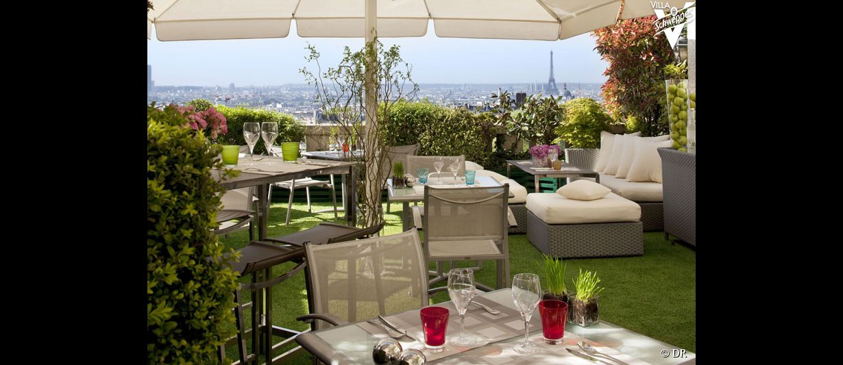 Les terrasses de paris for Restaurant avec jardin terrasse paris