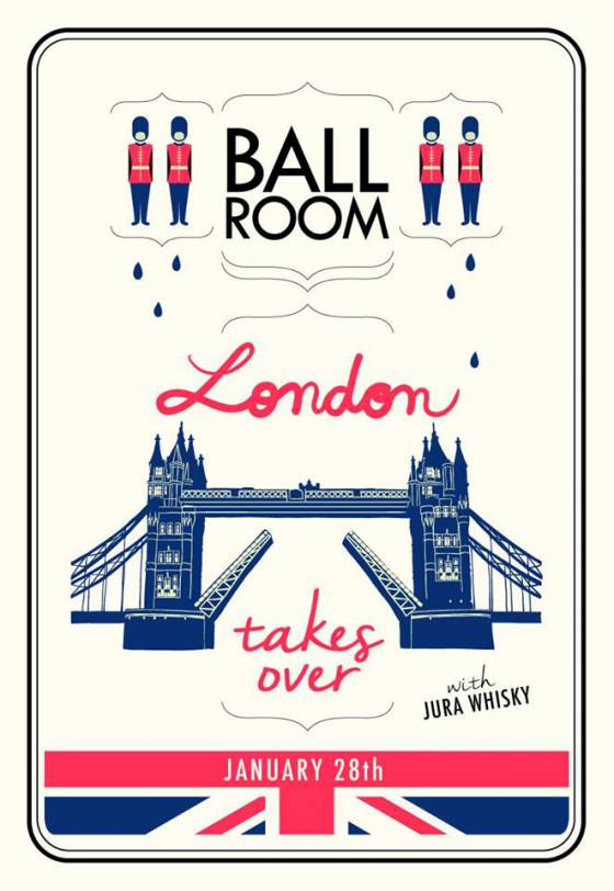 London Takes Over Ballroom