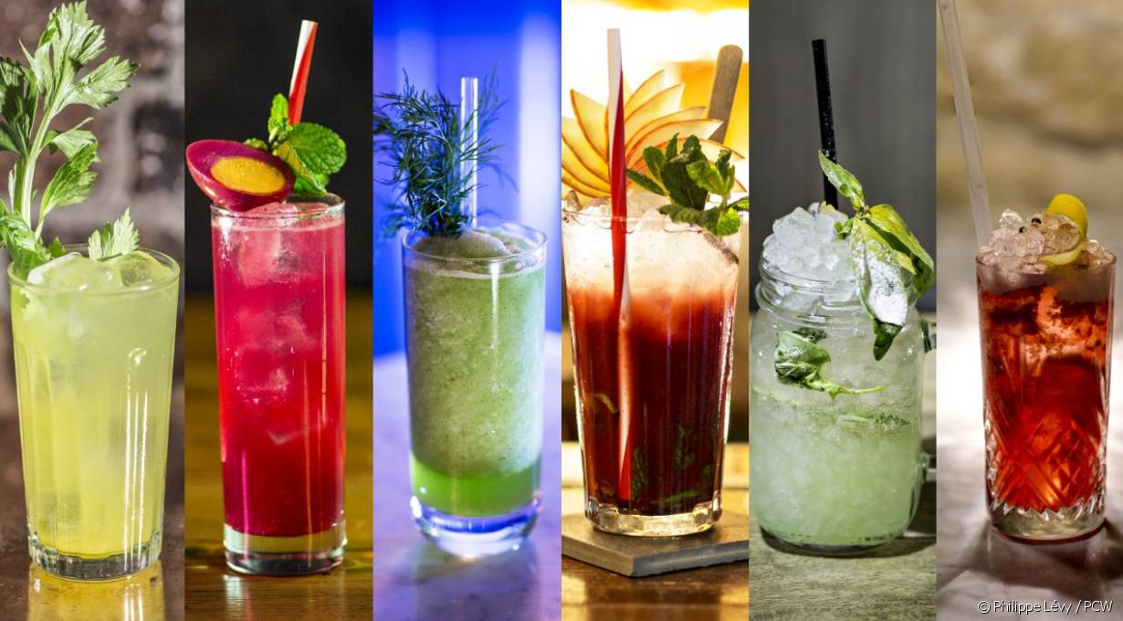 Quelques mocktails de la Paris cocktail Week 2016