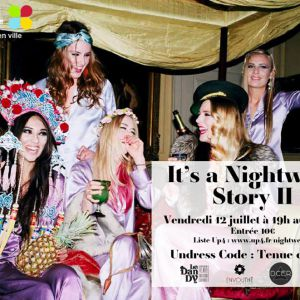It's a Nightwear Story au Dandy le vendredi 12 juillet 2013