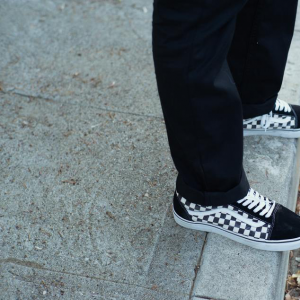 Checkerboard Mens Old Skool.