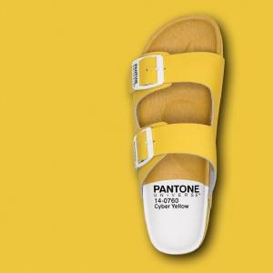 Pantone Universe Footwear collection printemps-été 2016.