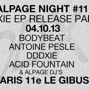 Alpage Night #11 au Gibus Café!