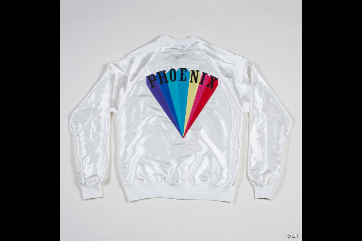 "La veste ""Trying To Be Cool"" de Phoenix en version blanche"