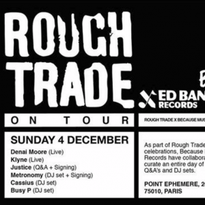 Rough Trade x Because