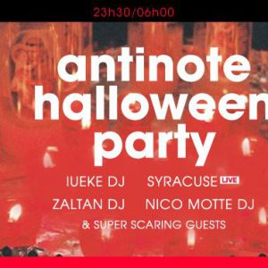 Antinote Halloween Party
