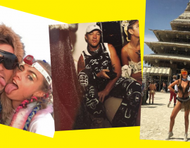Diplo, Paris Hilton, Katy Perry... Les stars croisées au Burning Man 2016