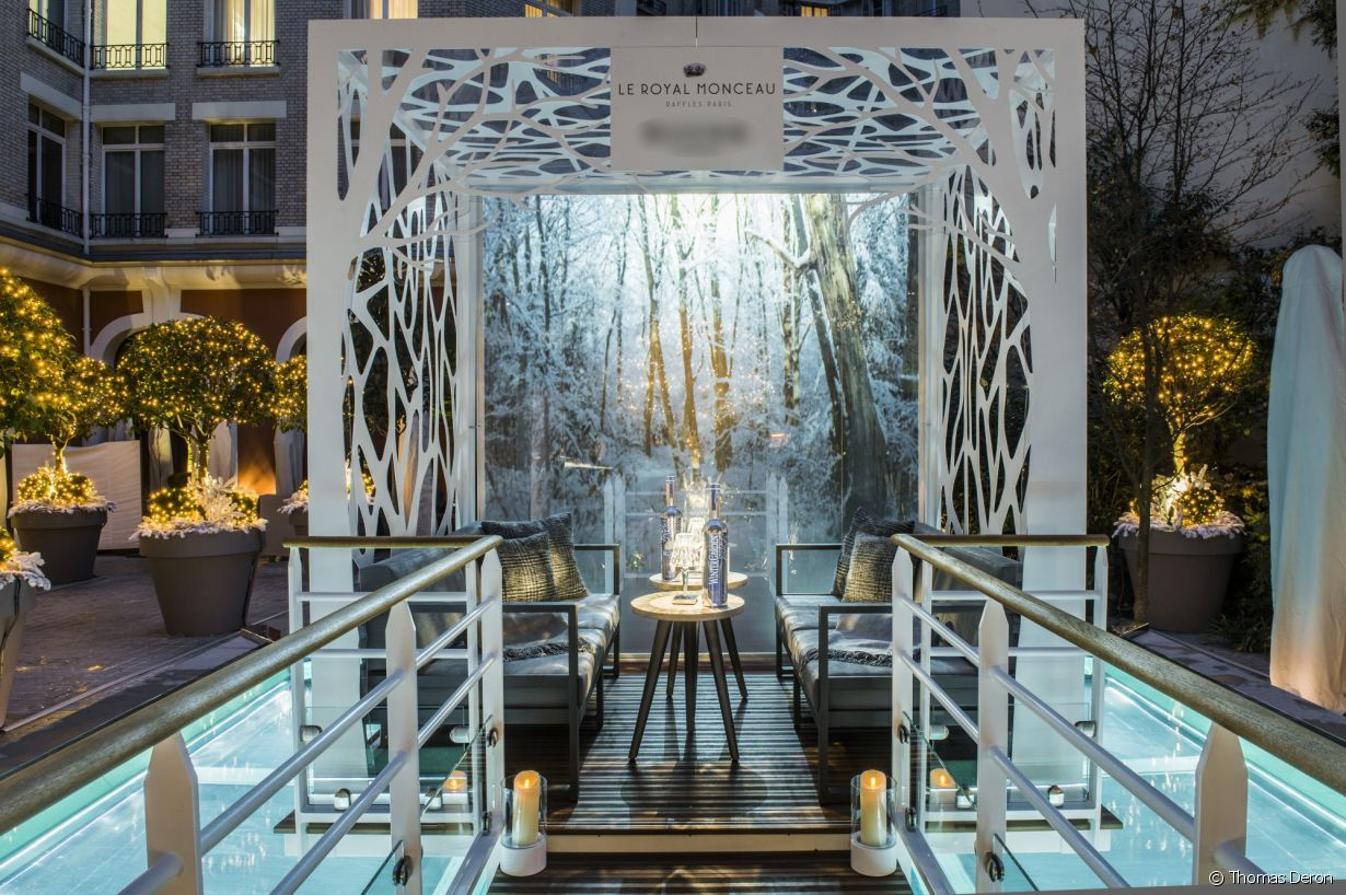 le jardin d 39 hiver du royal monceau food pairing dans un cadre exclusif. Black Bedroom Furniture Sets. Home Design Ideas