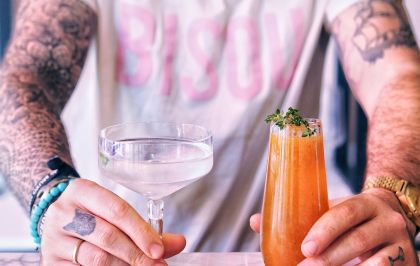Bisou : le bar à cocktails sans menu