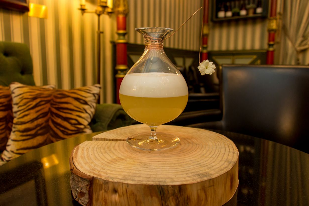 Le cocktail Bloom du Bar Botaniste