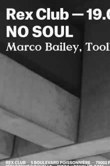 No Soul au Rex Club