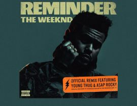 "The Weeknd invite Young Thug et A$AP Rocky pour ""Reminder (Remix)"""