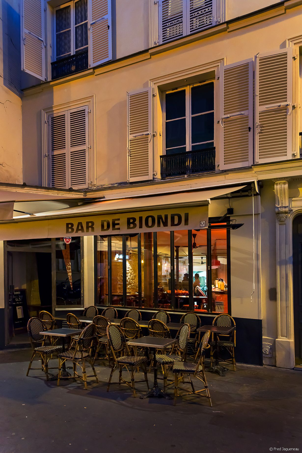 Le Bar de Biondi, 118 rue Amelot, 75011 Paris - Photo 7