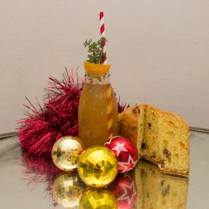 Gingler Sledge, le cocktail de Noël du bar d'Ober Mamma