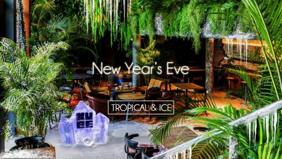 New Year's Eve Tropical & Ice le 31 décembre 2017