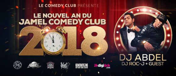 Nouvel An du Jamel Comedy Club le 31 décembre 2017