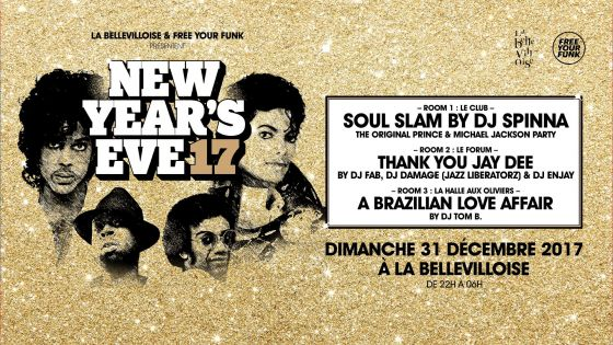 Free Your Funk New Year's Eve le 31 décembre 2017