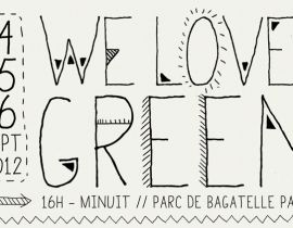 Septembre au vert avec la We Love Green