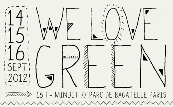 La We Love Green, c'est mi-septembre !
