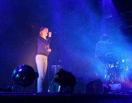 Un soir au festival Elektricity : London Grammar, Christine and the Queens et Alb en live