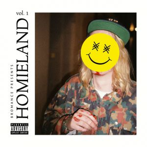 La pochette Homieland vol.1 en question