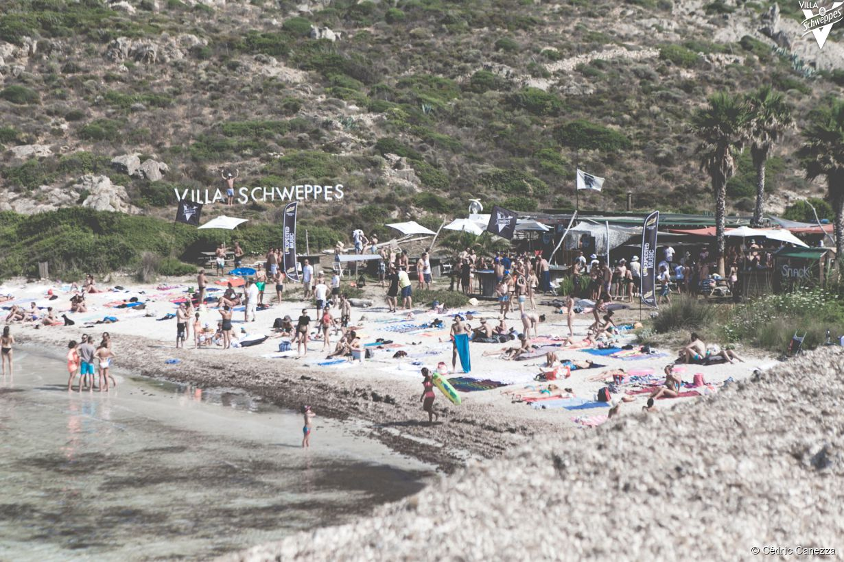 La Villa Schweppes à Calvi on the Rocks 2015 - Mar A Beach