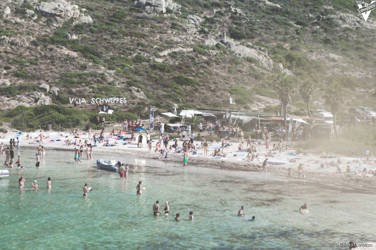 La Villa Schweppes à Calvi on the Rocks 2015 - photo 17