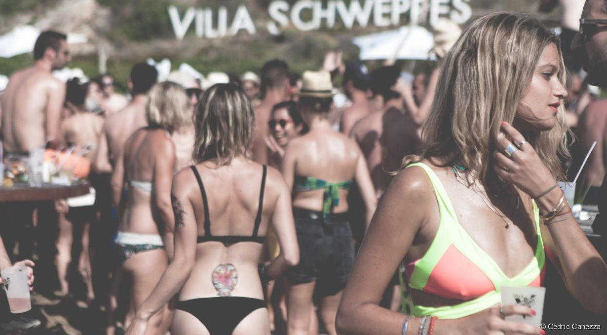 La Villa Schweppes à Calvi on the Rocks 2015