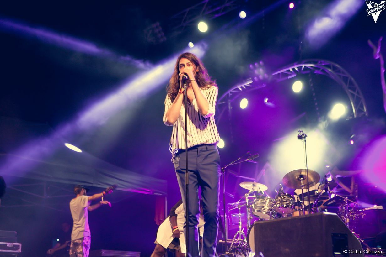 Kindness à Calvi On The Rocks le 3 juillet 2015, au Théâtre de Verdure
