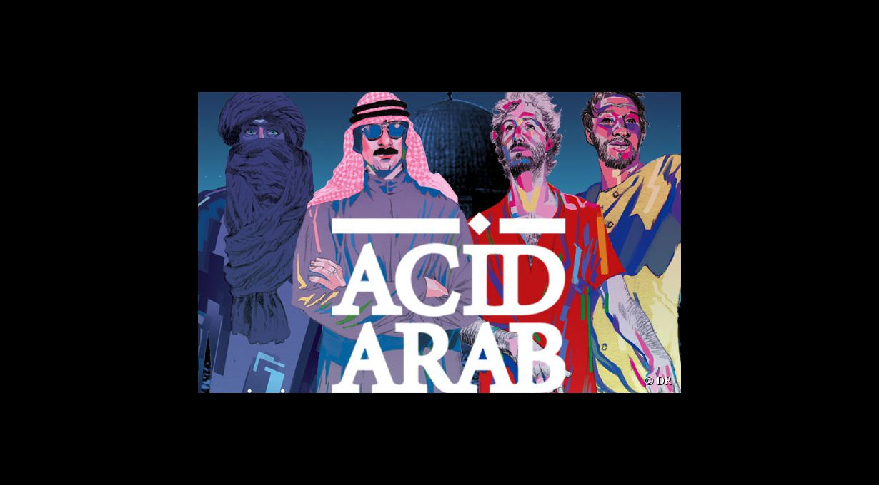Acid Arab le 12 avril à la Gaité Lyrique
