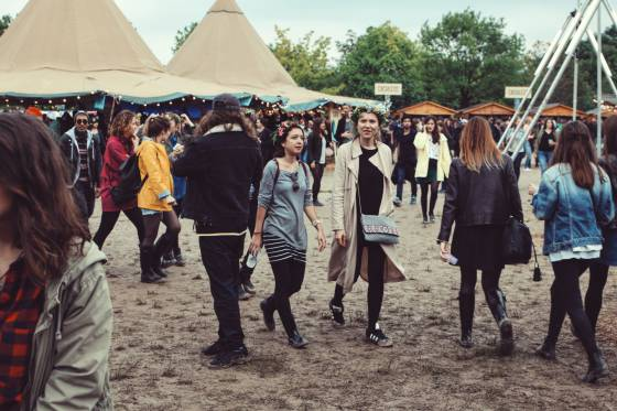 La boue : vraie star du We Love Green 2016
