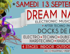 Festival Dream Nation le 13 septembre 2014 aux Docks de Paris