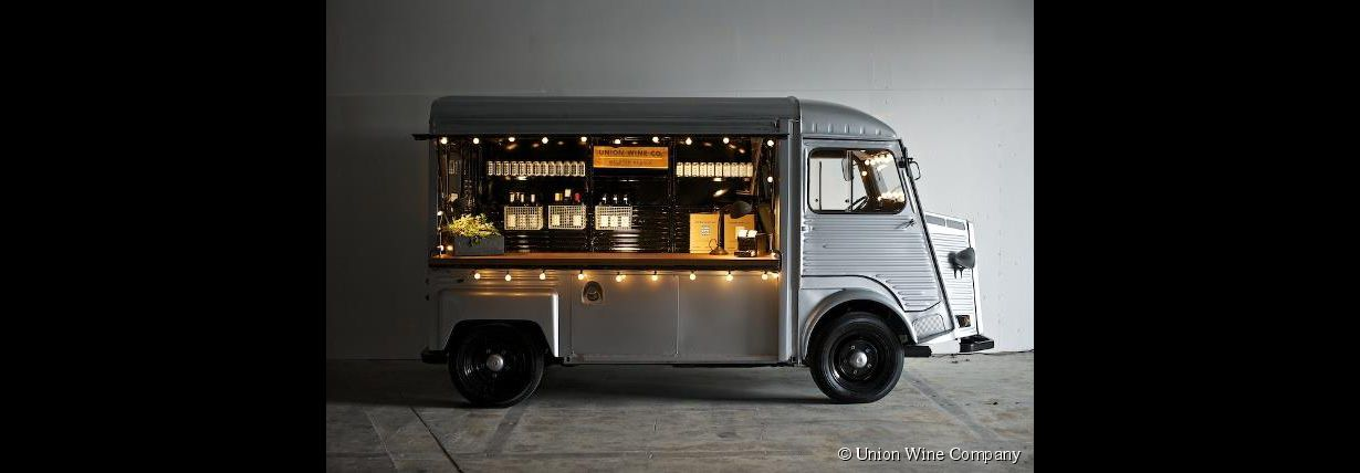 Le Wine-truck, bar à vin ambulant
