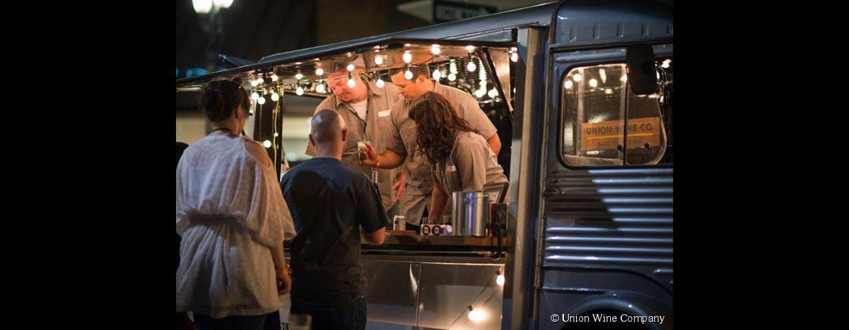 Le Wine-truck : bar à vin ambulant
