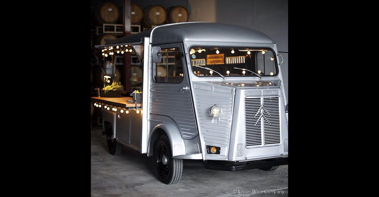 Le Wine-truck, le bar à vin ambulant