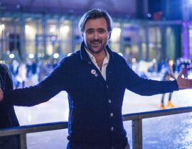 Opening du Grand Palais des Glaces : Rasmus Michau on ice !