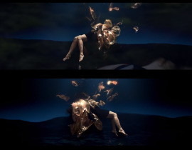 """Black Lake"" : la nouvelle version du clip psychédélique de Björk"