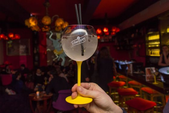 Un cocktail de l'apéro Elec'tonic