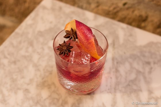 Le Mexican Negroni from the Barrel