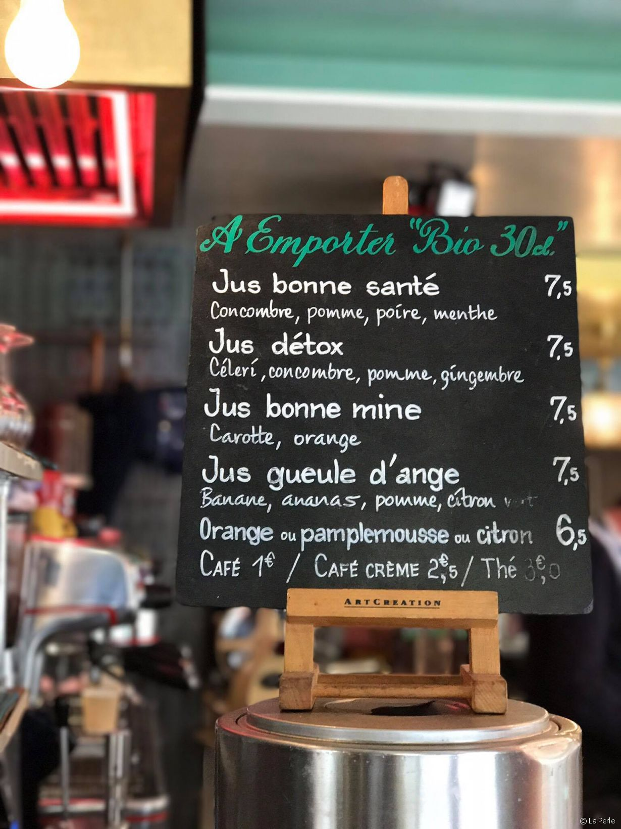 Café La Perle, 78 rue Vieille du Temple, 75003 Paris - Photo 5