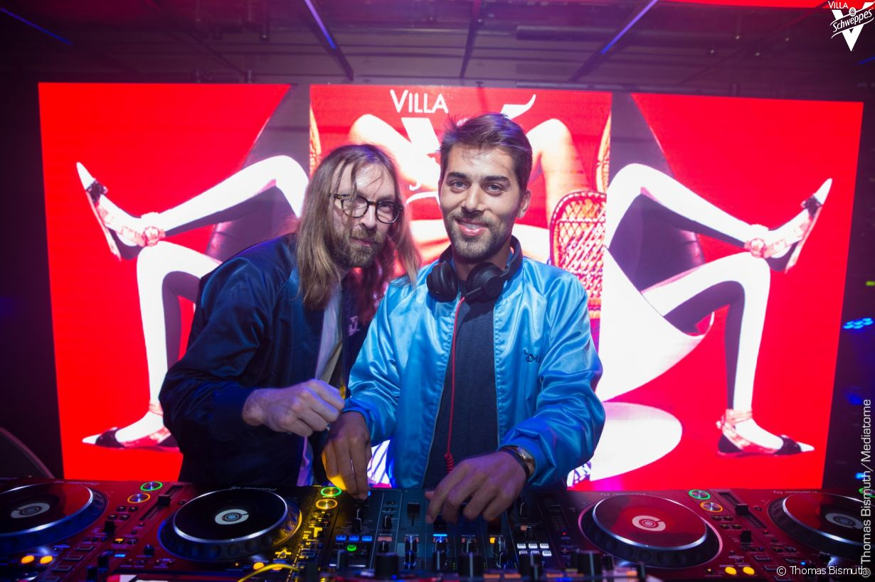 Villa Schweppes à Cannes le 23 mai 2017 - Photo 15 (Breakbot & Irfane)