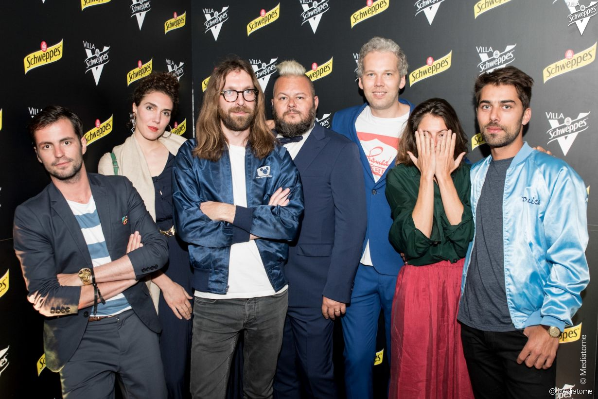 Villa Schweppes à Cannes le 23 mai 2017 - Photo 14 (Breakbot & Irfane, Greg Boust, Polo & Pan)