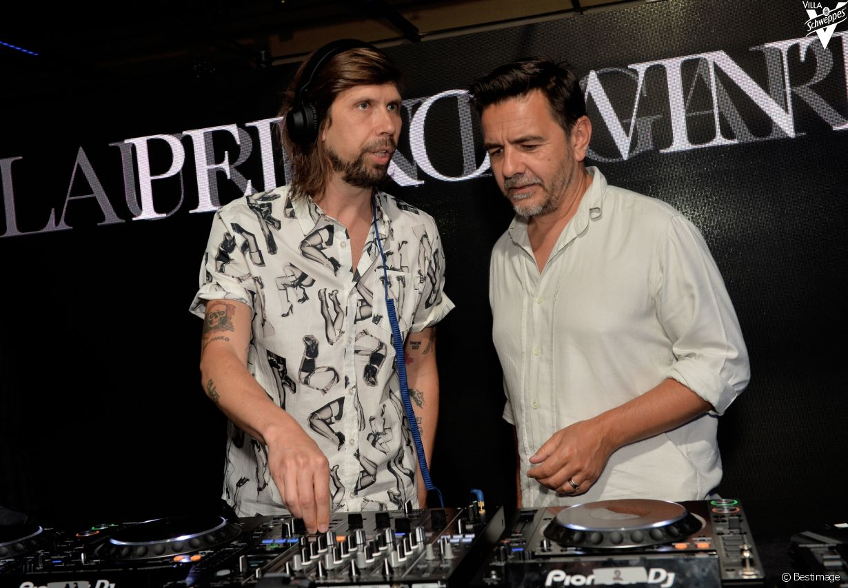 Villa Schweppes à Cannes le 26 mai 2017 - Photo 26 (Busy P et Laurent Garnier)